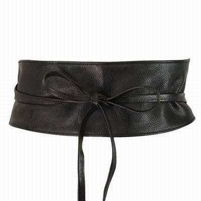 ceinture femme extra large serre,ceinture large noire a nouer,ceinture large  robe 6db728b970f