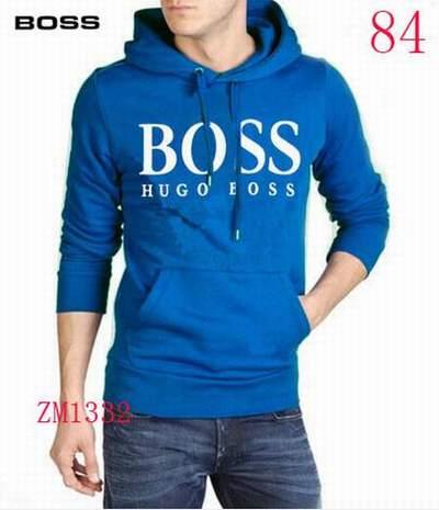 5053900390 sweat capuche coton homme,sweat capuche Hugo Boss vert,sweat Hugo Boss homme  pas